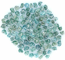 Natural Loose Diamond Rough Drilling Bead Blue Color I3 Clarity 2.00 Ct Lot K9