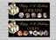 Birthday-Party-Banner-18th-21st-30th-40th-50th-60th-Black-Balloons-decoration thumbnail 1