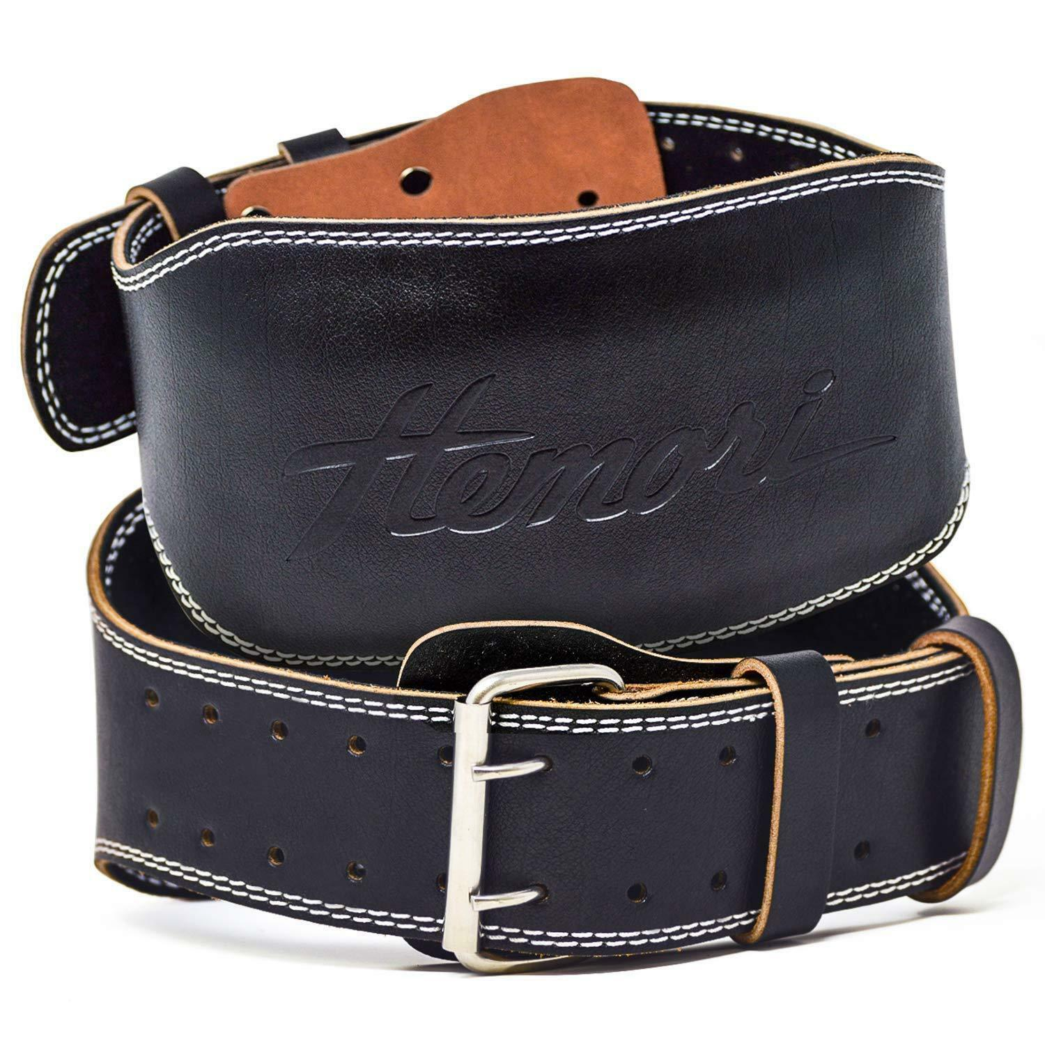 Hemori Genuine Cowhide Leather Pro Weight Lifting Belt for Men and damen