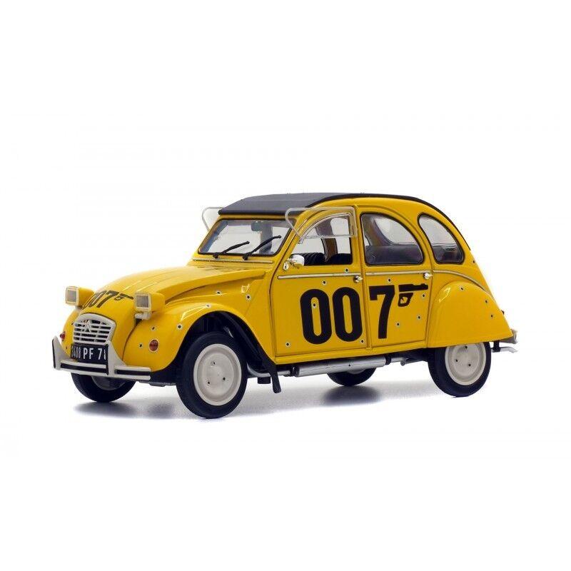 SOLIDO 421184160 Citroen 2cv6 James Bond 1 18 Nouveau Neuf dans sa boîte