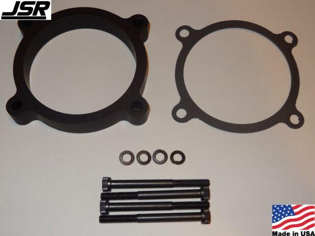 86-93 Mustang GT LX 5.0 EGR Throttle Body Spacer Nitrous Plate Kit 1//2in X 75mm
