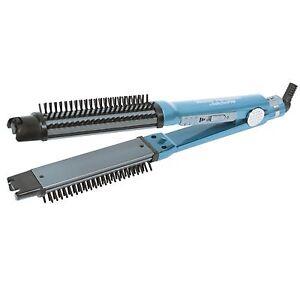 BaBylissPRO-Flat-Iron-amp-Brush-Nano-Titanium-1-1-4-034-Omni-Styler