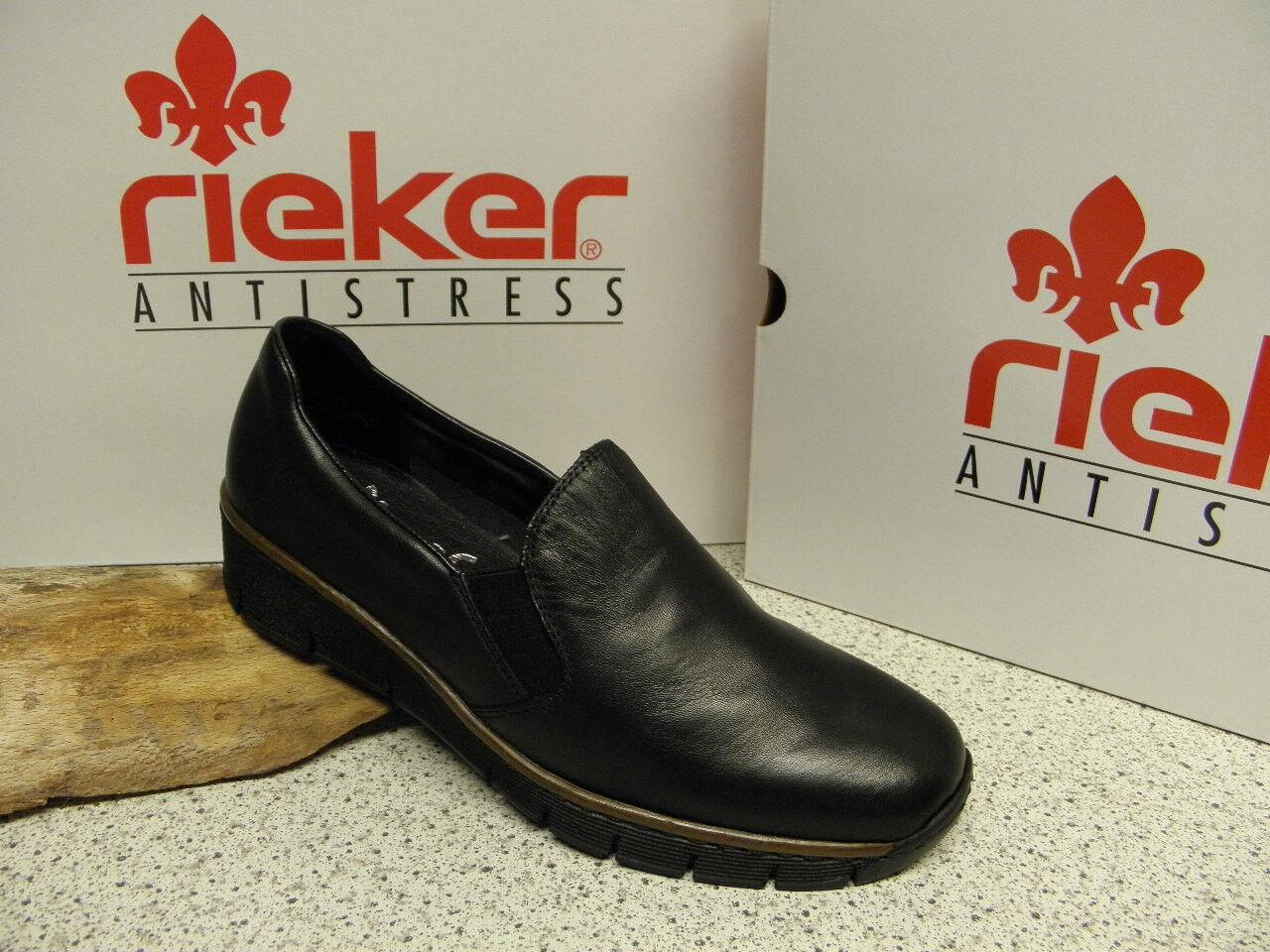 Rieker ® réduit, sale Noir Super confortable top prix prix prix 53766-00 (r271) 156cb3
