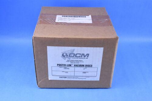 """100 DCM Clean-Air 3/"""" Pneumatic Air Grinder Postiv-Lok Vacuum Discs"""