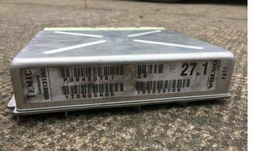 Volvo S80 V70 P26 TEMIC Steuergerät Automatikgetriebe 01313A5 9480761 02033708