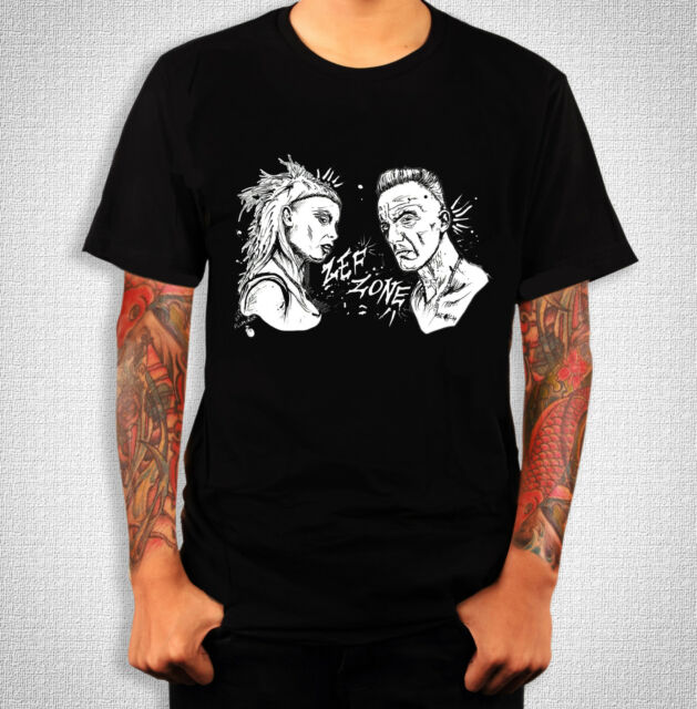 Die Antwoord, ZEF Black T-Shirt, from an ORIGINAL Ink Drawing! S-XL