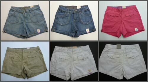 Arizona Girls Jeans Shorts Adjustable Waist Regular and Plus Sizes