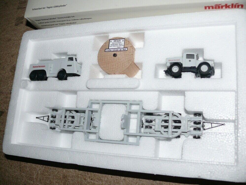 M21 marklin 46824 Wagenset pesanti autotaglättzylinder delle DRG