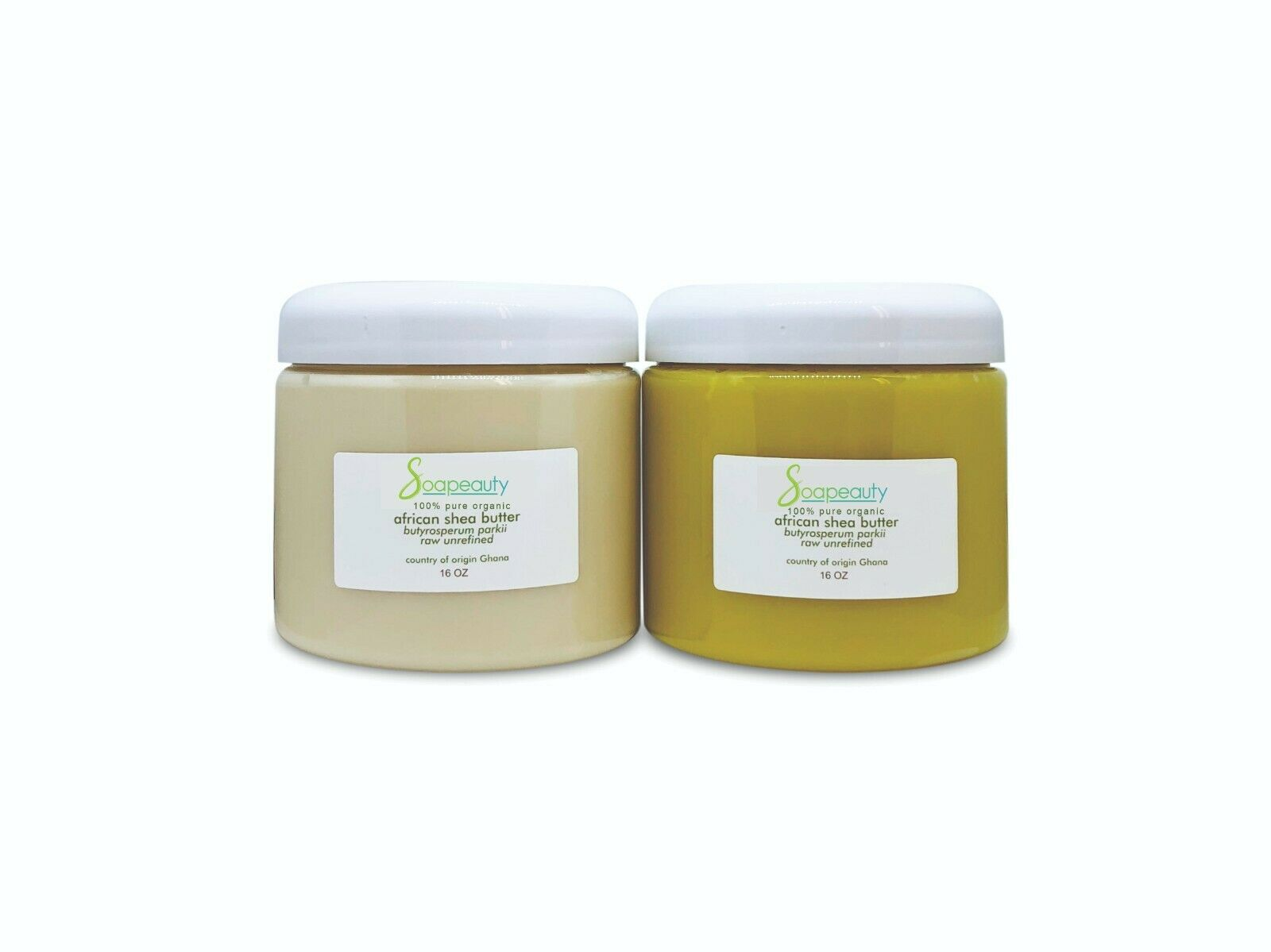 AFRICAN SHEA BUTTER UNREFINED organic cold pressed from GHANA Soapeauty