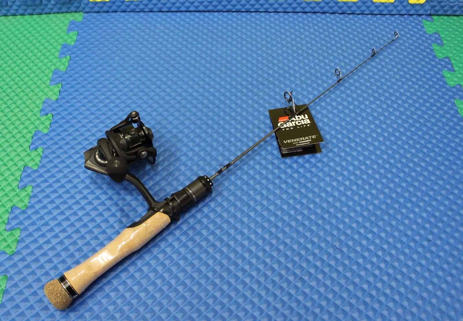 Abu Garcia Rod & Reel  Venerate Ice Fishing Combo AVNRTICE25LCBO 1424501  no hesitation!buy now!