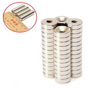 50-Stueck-Super-Starke-Neodym-Ring-Scheiben-Magnete-Magnet-N50-10-X-3-mm-Set