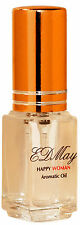 EDMay HAPPY WOMAN Patchouli Aromatic & Fragrance Body Oil Perfume 5 ml spray