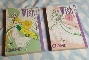 WISH-2-3-CLAMP-MANGA-TOKYOPOP-JAPANESE