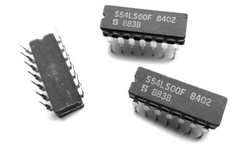 1 pcs S54LS00F Quad 2-Input NAND Logic Gate 54LS00 IC SN54LS00J