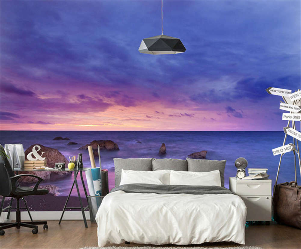 Gloomy Static Water 3D Full Wall Mural Photo Wallpaper Printing Home Kids Decor