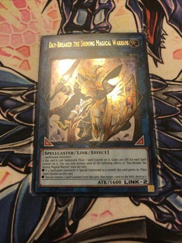 Yugioh Day-Breaker The Shining Magical Warrior SR08-EN040 Ultra Rare 1st Edition