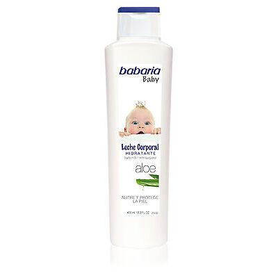 babaria Aloe Vera Baby-Körpermilch 400 ml  (1,88 €/100 ml)