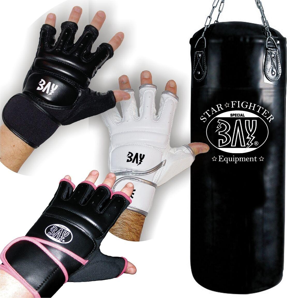 BAY® STAR-FIT Boxset 80 cm gefüllt Sandsack Box-Handschuhe Boxsack Box-Set voll