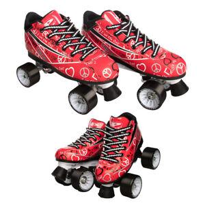 Pacer-Heart-Throb-Speed-Style-Roller-Skates-For-Women-Girls-Quad-Derby-Wheels