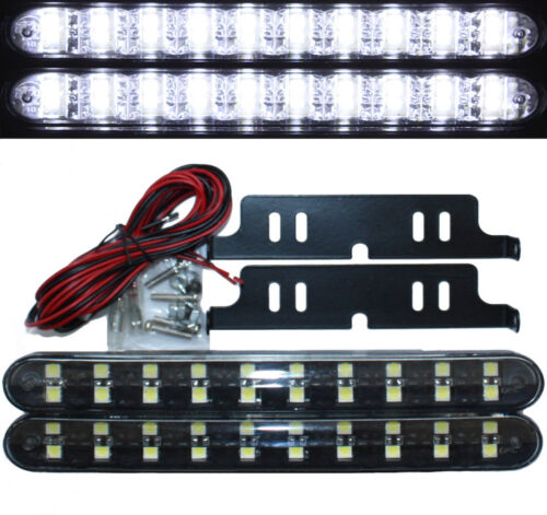 Luci Diurne LED Nero 20smd MERCEDES CLASSE S w220 w221 Coupe CL w215 w216