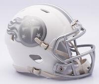 Nfl American Football Tennessee Titans - Ice Alternate Riddell Mini Helmet