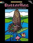 Butterflies Stained Glass Coloring Book by Dover, Coloring Books (Paperback, 2010)