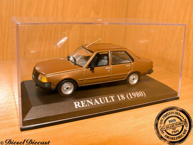 RENAULT 18 Marronee 1980 1 43 MINT