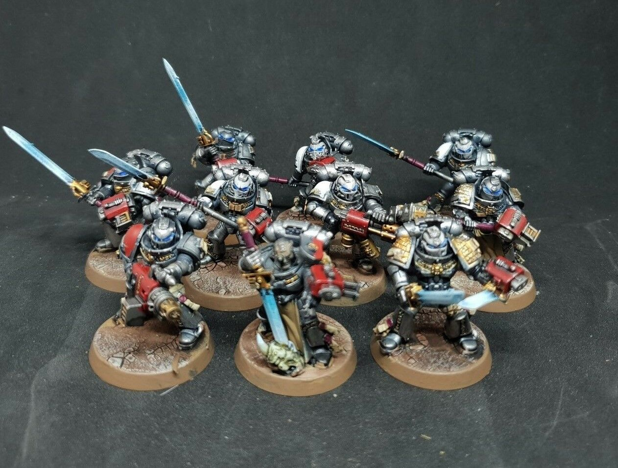 Warhammer 40k Pro painted Grey knights Strike squad