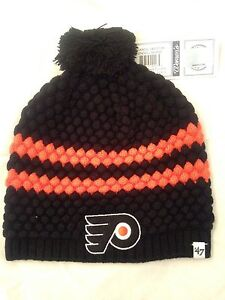 02c2d9569be9c Philadelphia Flyers NEW Women s Winter Knit Hat with Pom . NHL ...