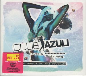 CLUB-AZULI-Vol-5-Various-Artists-MIXED-BY-DAVID-PICCIONI-New-Sealed-2CD