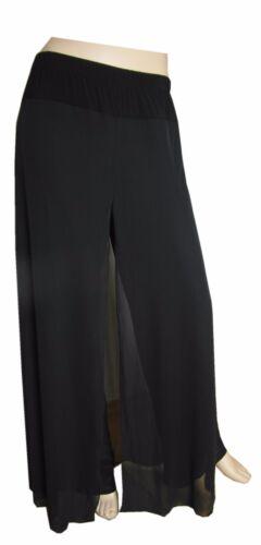 Hosenrock Haremshose schwarz Pluderhose Pumphose Trendmode bis Größe 56//58