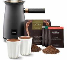 HOTEL CHOCOLAT HC01 Velvetiser Hot Chocolate Machine - Charcoal - Currys