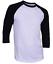 Raglan-Men-039-s-Casual-Baseball-T-Shirt-3-4-Sleeve-Plain-Jersey-Tee-S-2XL thumbnail 12