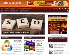 Traffic Generation Blog Site Affiliate Income Free Hosting Setup