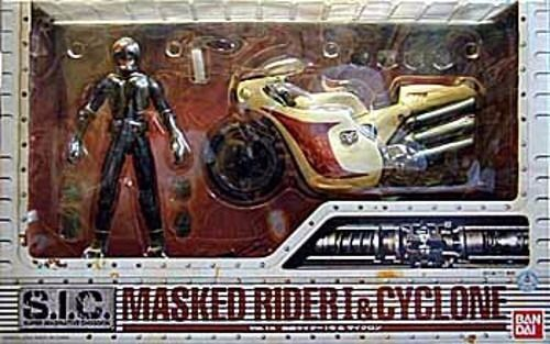 S.I.C. Vol. 14 Masked Kamen Rider 1 1 1 & CYCLONE Action Figure BANDAI from Japan 66d940