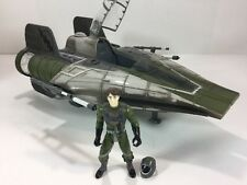 Star Wars Saga Target Exclusive Green A-Wing Fighter Vehicle 2003 Hasbro