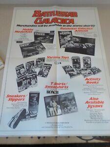 Battlestar Galactica Merchandise Original Vintage Poster 17x23