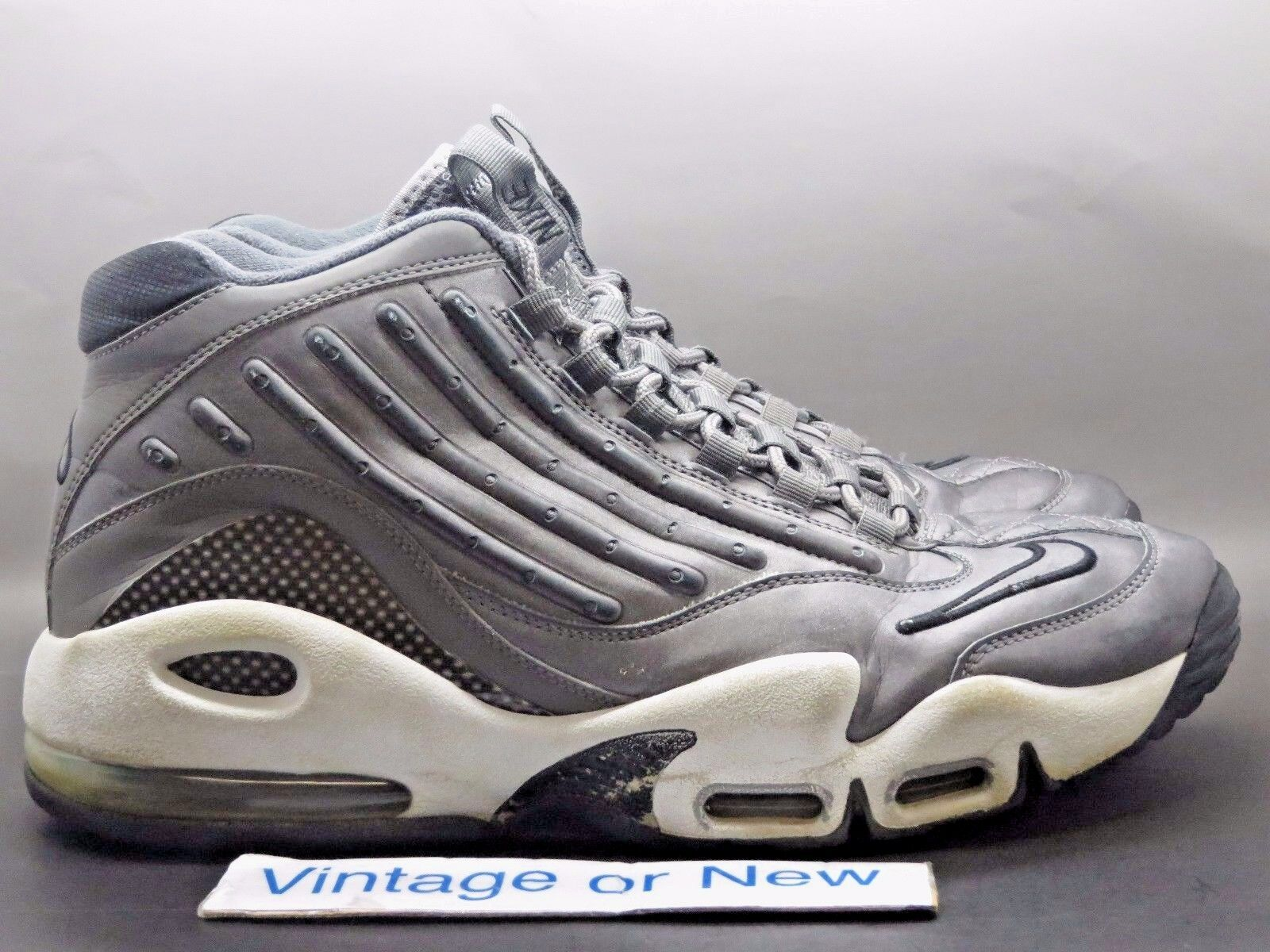 Nike Air Griffey Max II 2 3M Metallic Dark Grey White 2011 sz 13