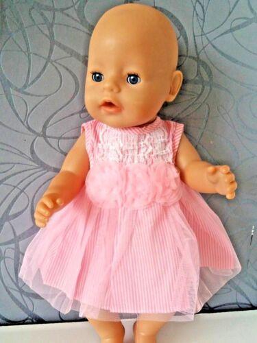 passend für Baby Born Puppe,oder Götz Puppe  43-46cm Kleid Puppen Kleidung