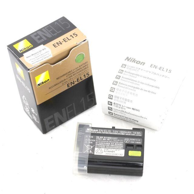 Bateria Nikon EN-EL15 D600 D610 D600E D800 D800E D810 D7000 D7100 d750 V1 MH-25