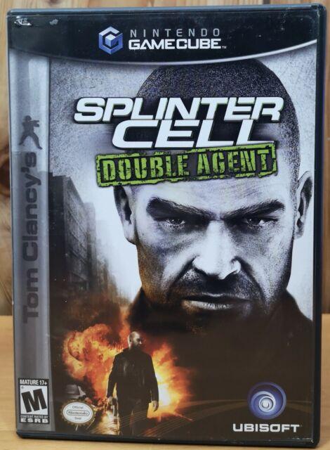 Splinter Cell Double Agent (Nintendo GameCube, 2005, Ubisoft) *2 Disks M