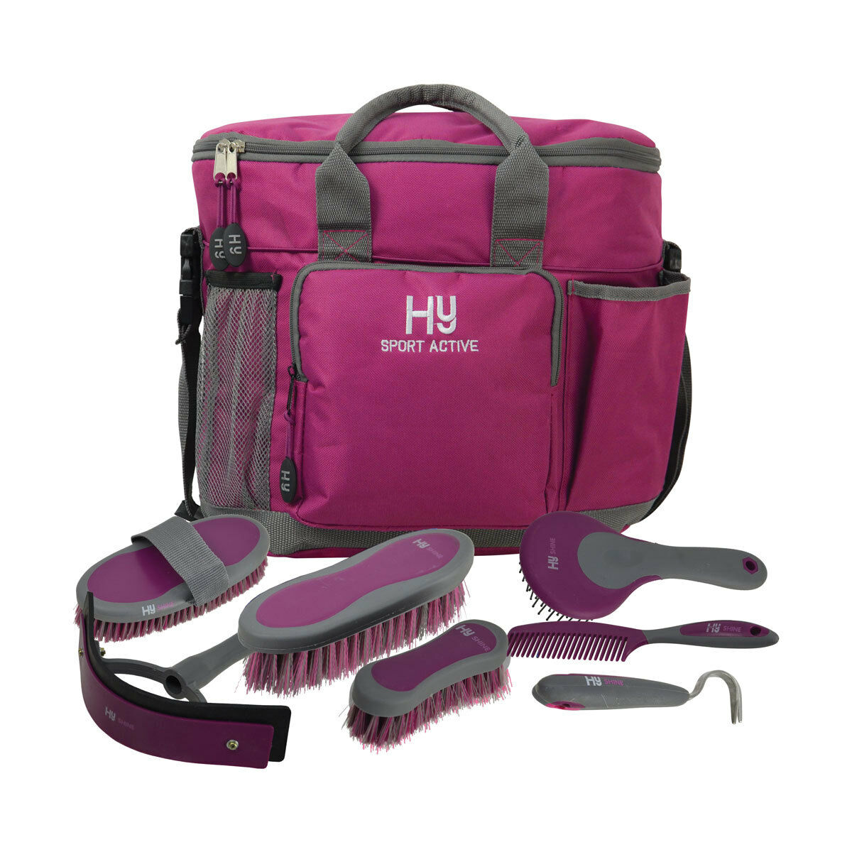 NEW HYSHINE ACTIVE GROOM GROOM ACTIVE COMPLETE SET GROOMING HORSE EQUINE CHRISTMAS GIRL GIFT aafe31