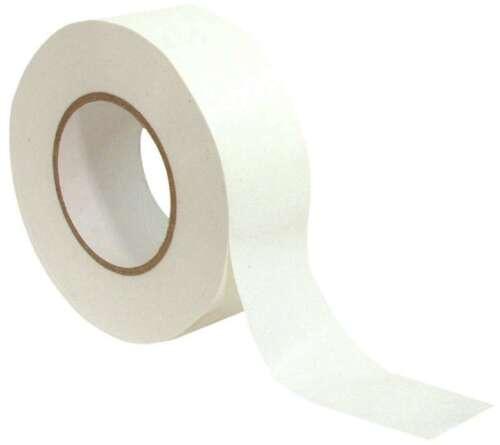 0,20 €//M toile pro blanc white stagetape 50m x 50mm ADHESIF steinband
