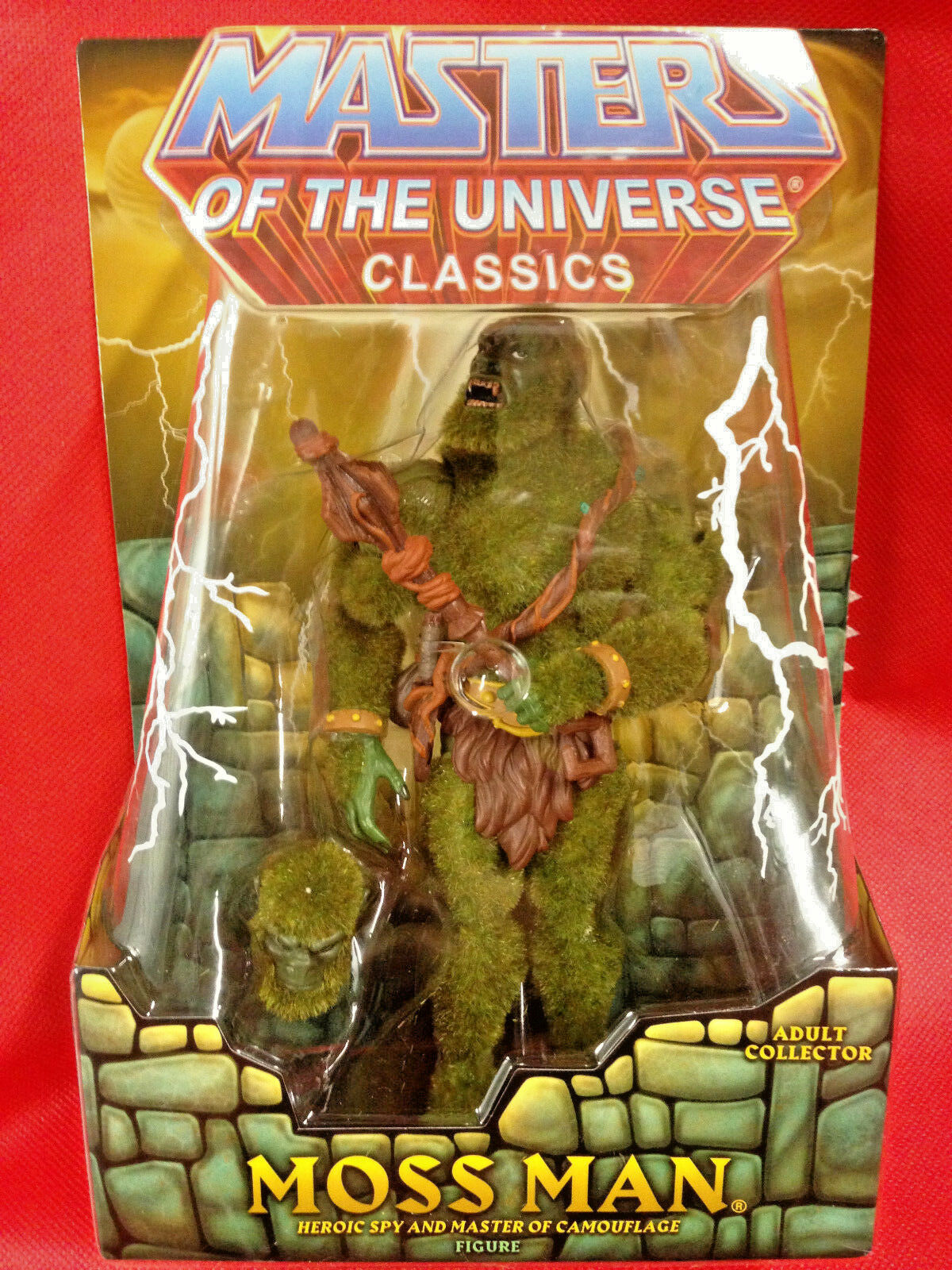 Moss Man 1st libération Masters of the Universe Classics Figure masters of the Universe Neuf Scellé