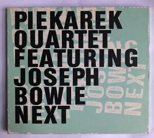 Piekarek Quartet feat. Joseph Bowie (CD)