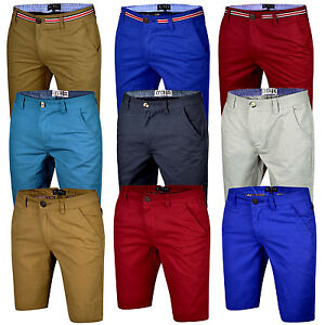 Mens-Chino-Shorts-Cotton-Summer-Half-Pants-Casual-Jeans-Cargo-Combat-New