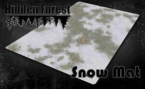 HiddenForest Snow Terrain Mat (Mouse Pad Material)