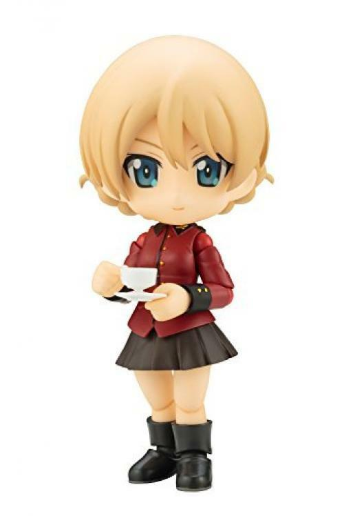NEW Cu-poche 37 GIRL und PANZER DARJEELING Figure Kotobukiya from Japan F/S