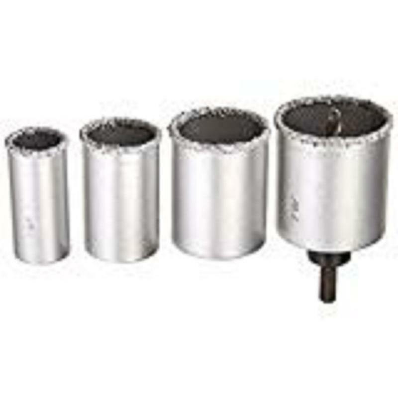 ARTU USA 02890 Tungsten carbide Grit HOLE SAW 6-Piece Kit