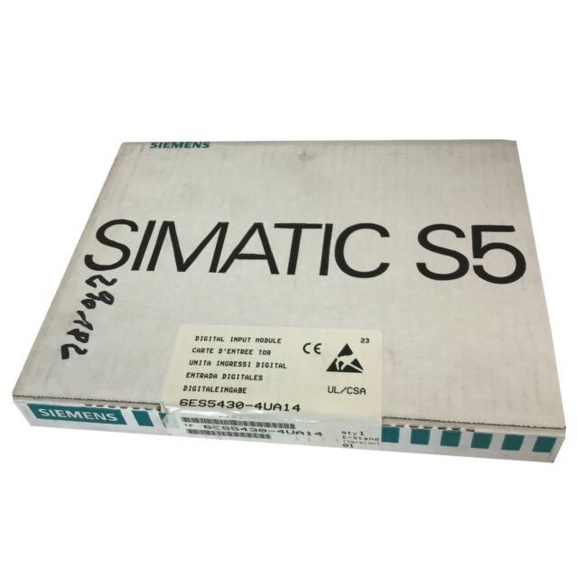 Siemens Simatic S5 6ES5430-4UA14 Digital Input